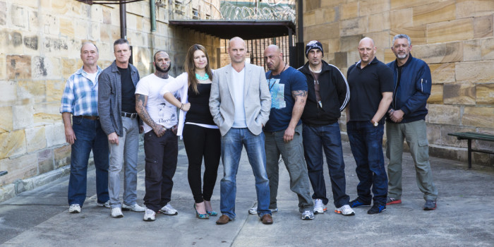 Ex-Prisoners tackle the art of acting in New Australian Series.